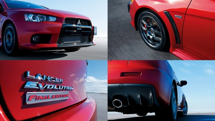 The final Evo benefits from upgraded suspension and a bump in power.