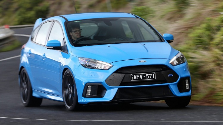 2016 Ford Focus RS.