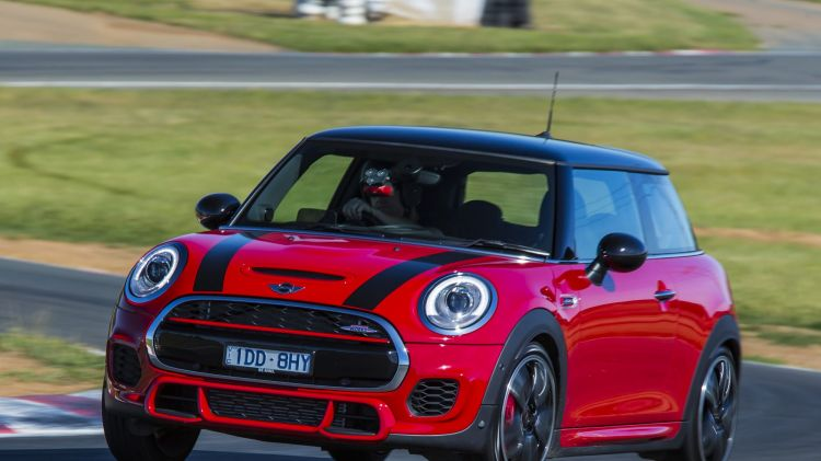 Mini is now offering a John Cooper Works cosmetic option package.