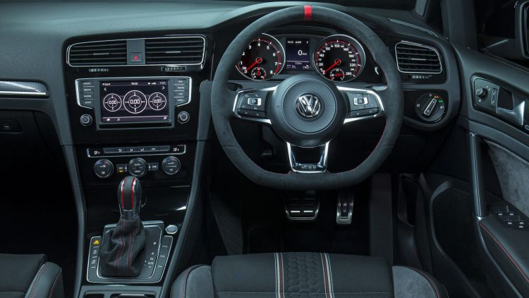 The Volkswagen's cabin is a special place to be.