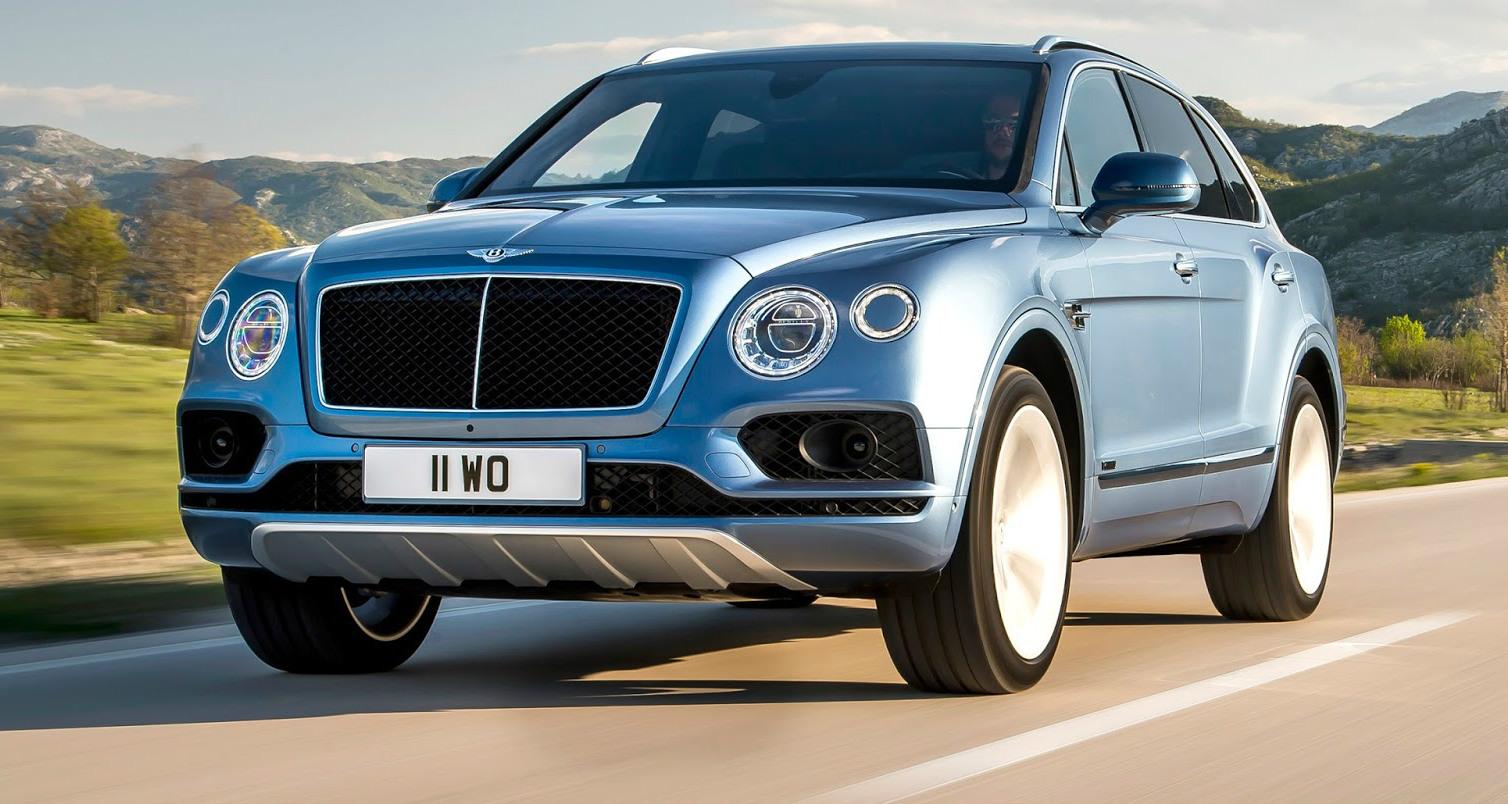 Bentley Bentayga Diesel - The World's Fastest Diesel SUV