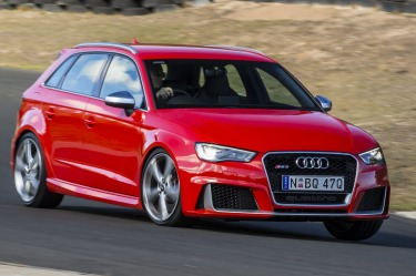 Updated Audi RS3 to get more power