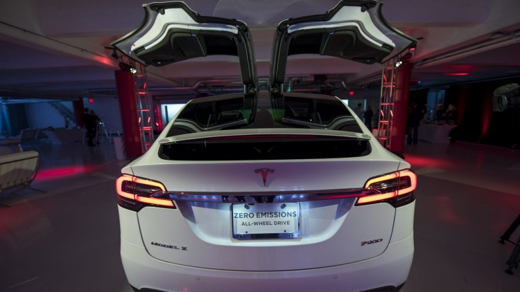 The upgraded battery is also available in Tesla's Model X SUV.