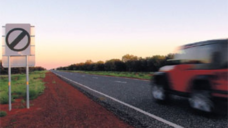 Lead-footers hit the highway in NT