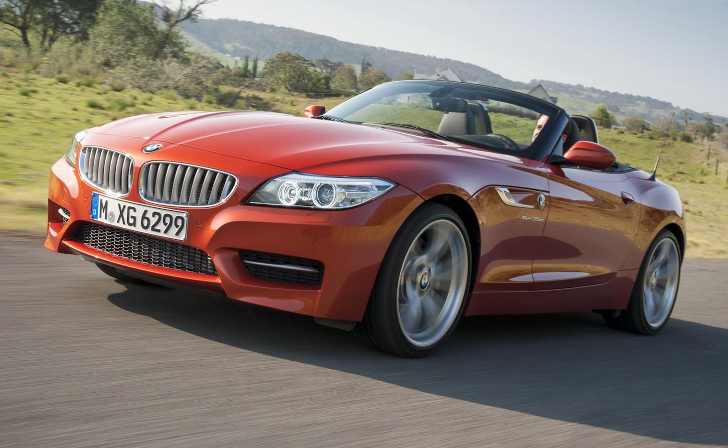 BMW Sends Last Z4 'Down The Line' - Z5 Near?
