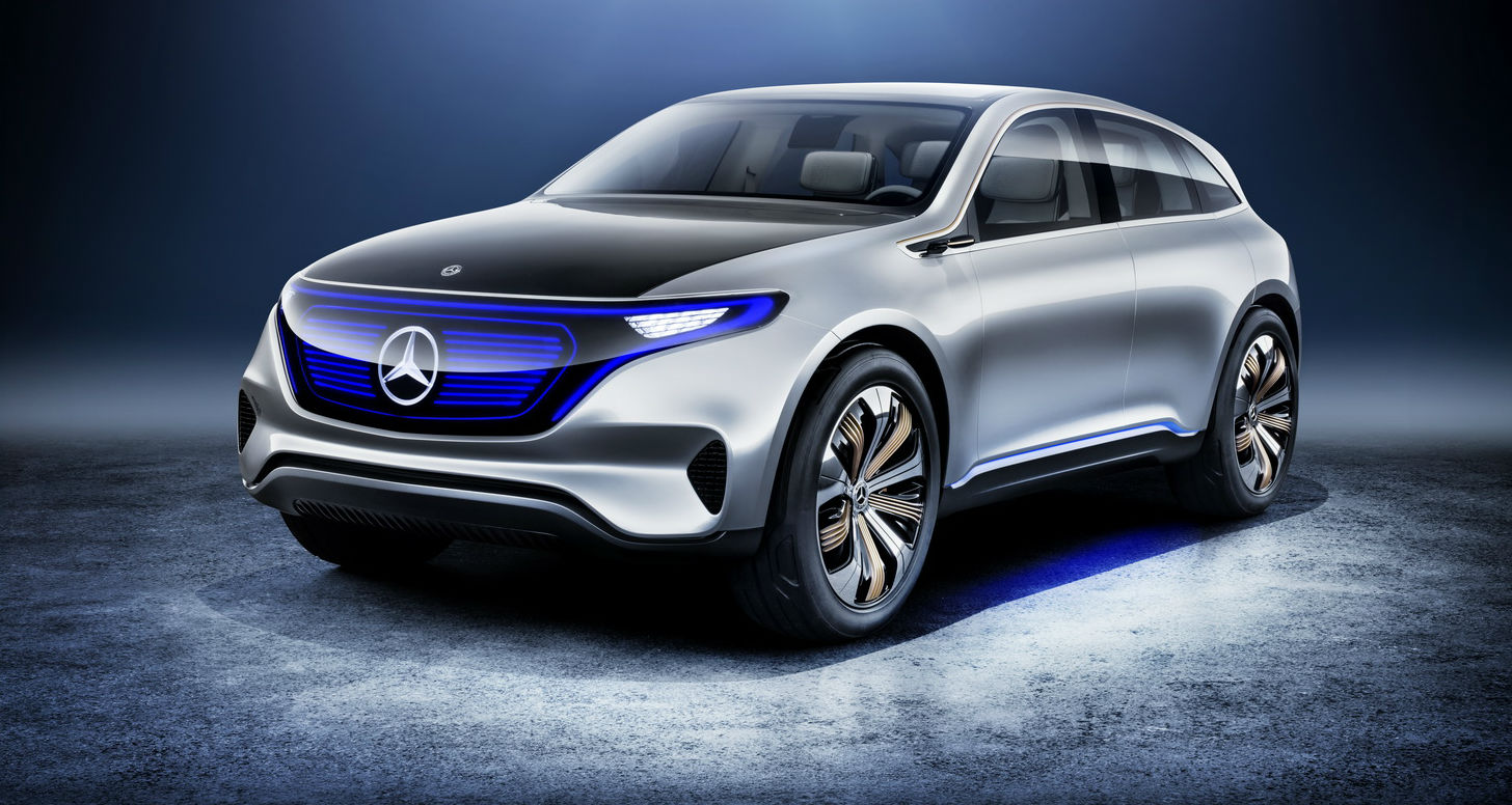 Paris Motor Show - Mercedes-Benz EQ Draws A Line In The Electric Car Sand