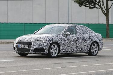 2016 Audi A4 spied
