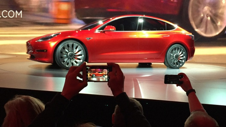 Tesla's Model 3 received a warm reception around the globe.