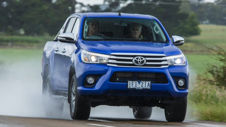 The Toyota HiLux is on track to be the most popular new vehicle of 2016.