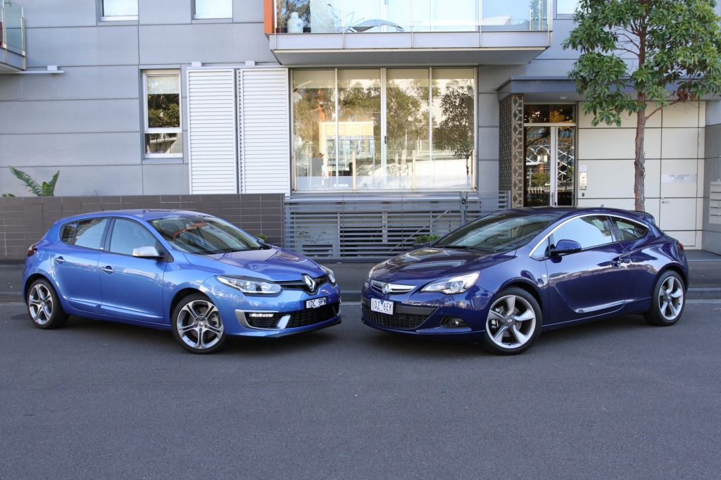 The Renault Megane GT220 and Holden Astra GTC form a new breed of warm hatches.