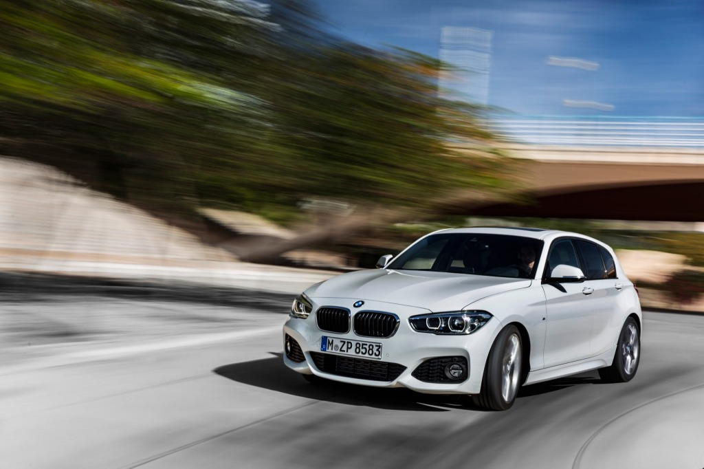 BMW has given its 1-Series hatch a new face and new engines