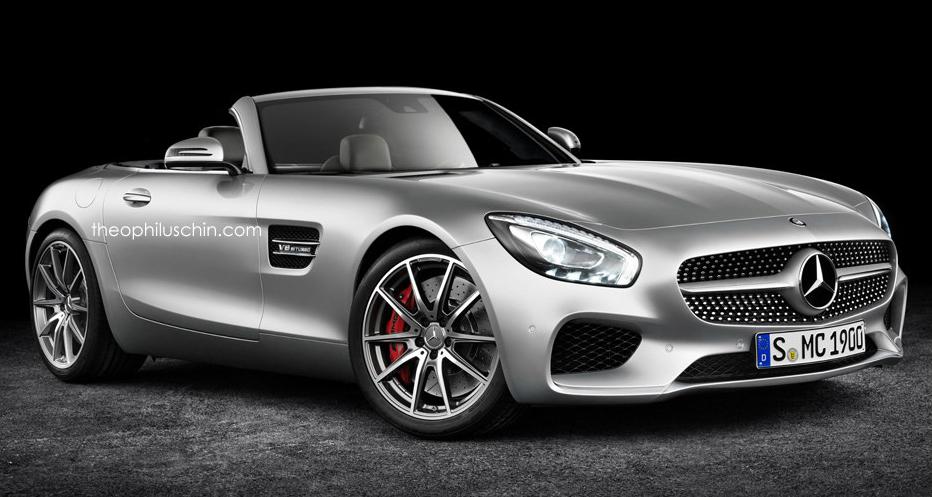 Mercedes-AMG GT Roadster Set For 2017 Debut