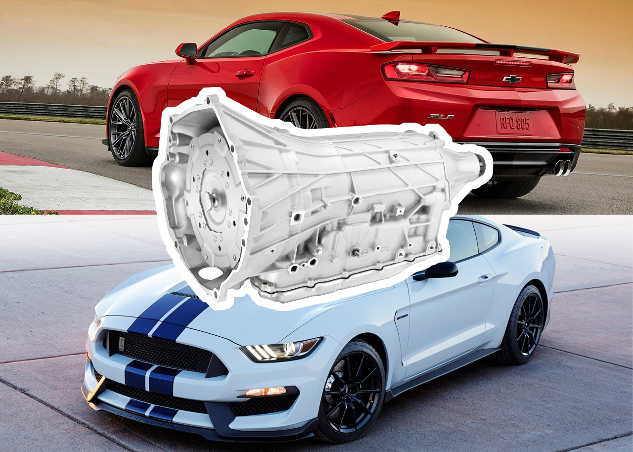 Ford Mustang To Share 10-Speed Automatic With Chevrolet Camaro ZL1