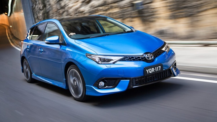 The Toyota Corolla was the highest selling vehicle in August 2016.