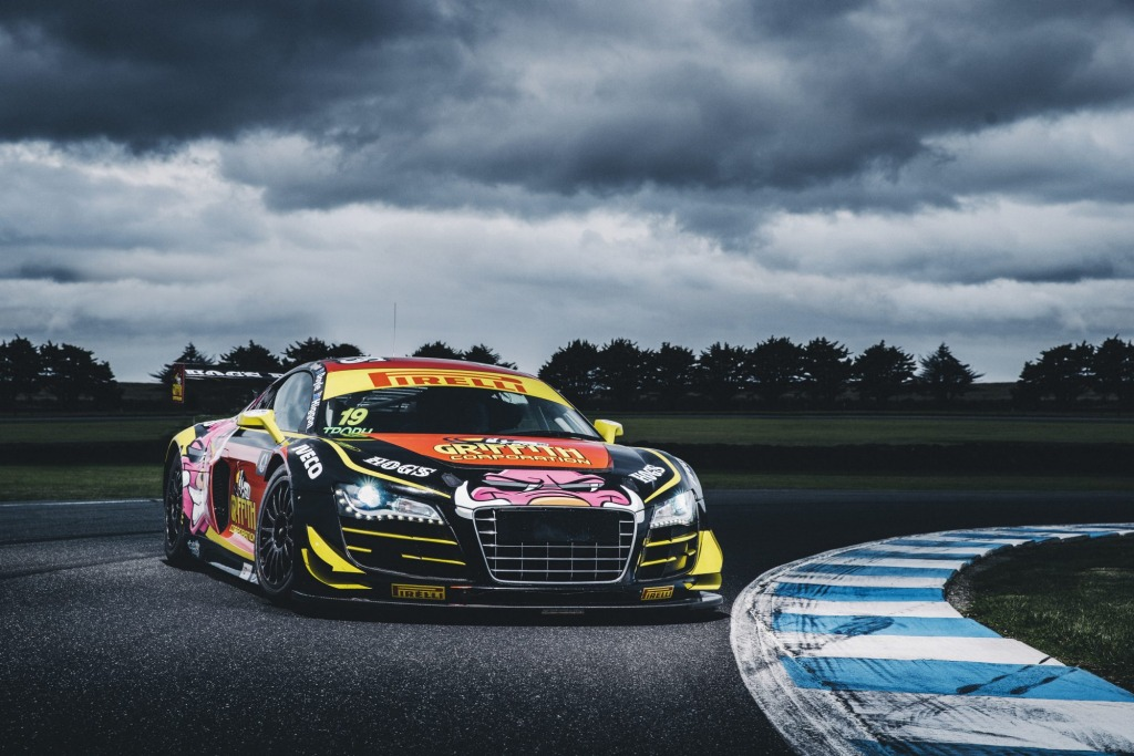 Mean machine: The Audi R8 LMS is nothing like the road version it is based on.