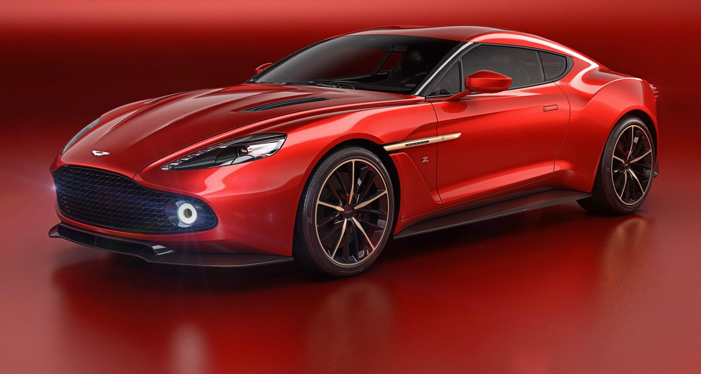 Aston Martin Vanquish Zagato Concept Unveiled In Italy