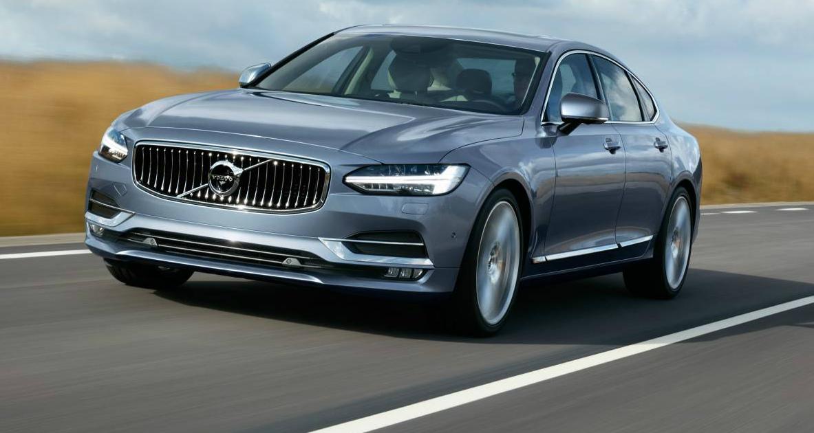 2017 Volvo S90 Sedan - Price and Features Announced For Australia