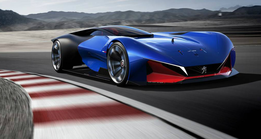 Peugeot L500 R Hybrid Concept Unveiled - PSA Groupe EV To Have Up To 450Km Range