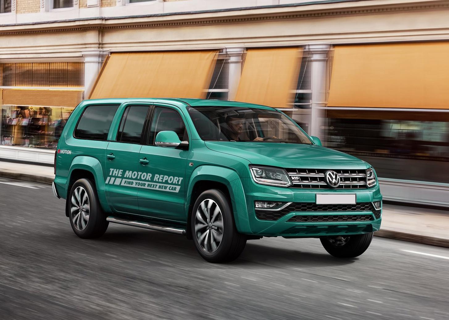 "Volkswagen ""Amarok-Based"" Heavy-Duty SUV Coming... US Market The Key"