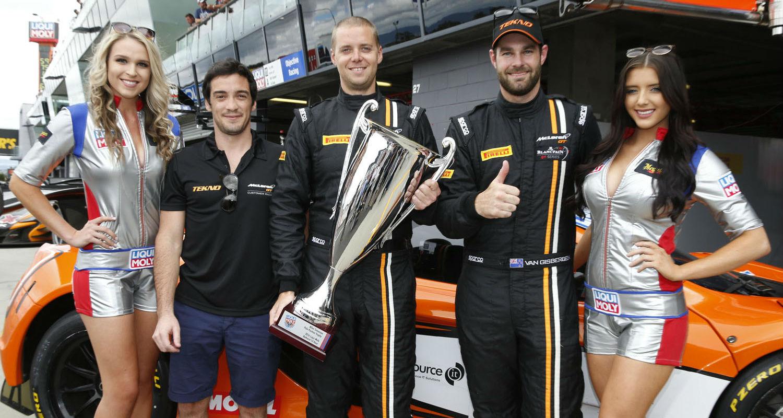 Bathurst 12-Hour Qualifying 2016 - Van Gisbergen And McLaren Snare Pole