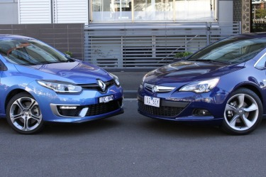 Head to head: Renault Megane GT220 and Holden Astra GTC Sport