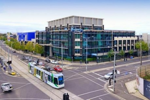 An artist's impression of Ford's upcoming sales headquarters in VIctoria Gardens.