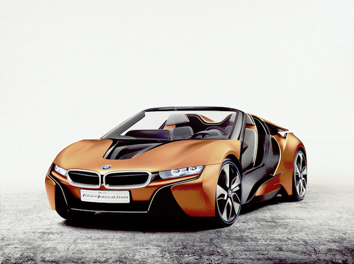 BMW i Vision Future Interaction Concept Debuts At CES 2016