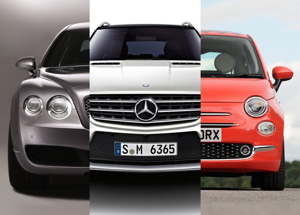 Recall Roll Call - Fiat 500, Bentley Continental, Mercedes-Benz ML And GL