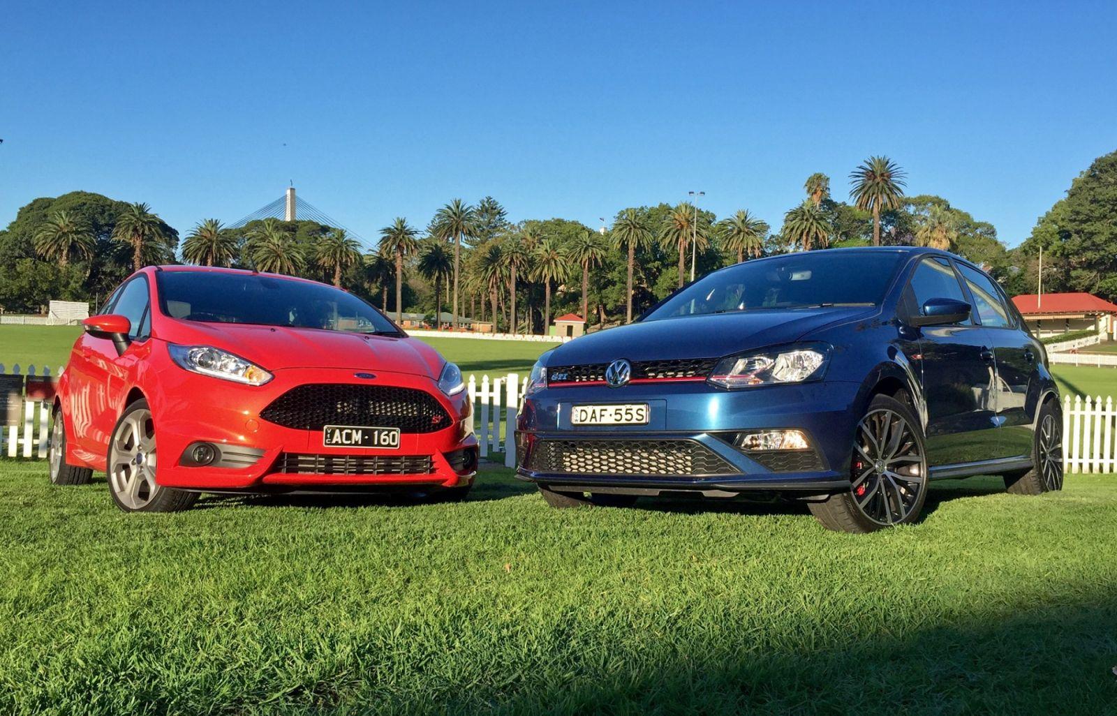 2016 Ford Fiesta ST vs 2016 Volkswagen Polo GTI Comparison REVIEW | The 'Little' Hot-hatch Showdown...