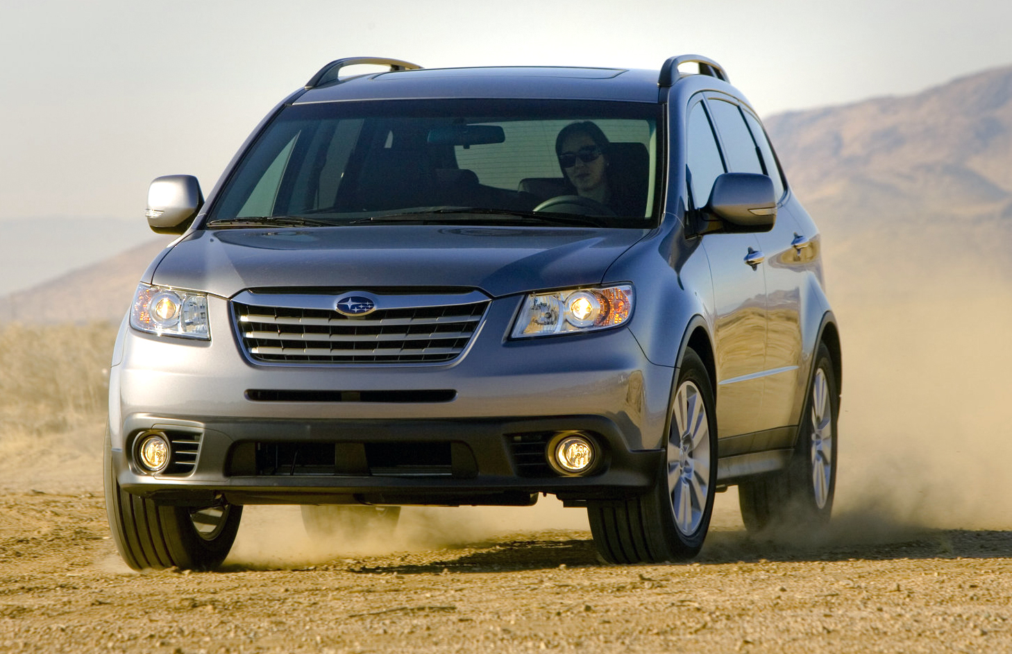 Subaru Plans Bigger Three-Row SUV To Fill Tribeca's Shoes