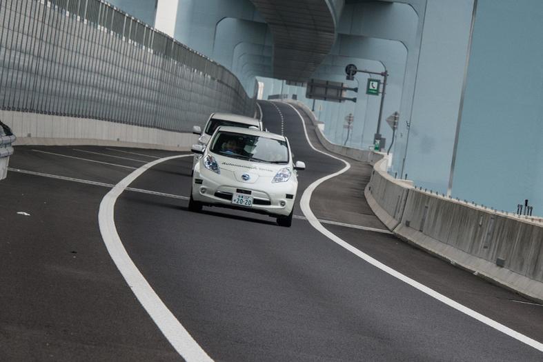 Nissan Leaf Piloted Drive 1.0 Concept Points To Nissan's Autonomous Future