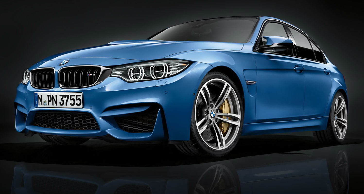 BMW M3 Gets Light Update For 2015