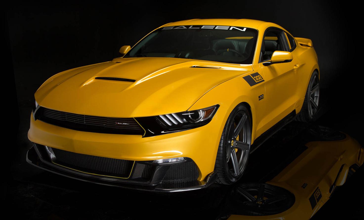 Saleen 302 Black Label: New 544kW Mustang Debuts