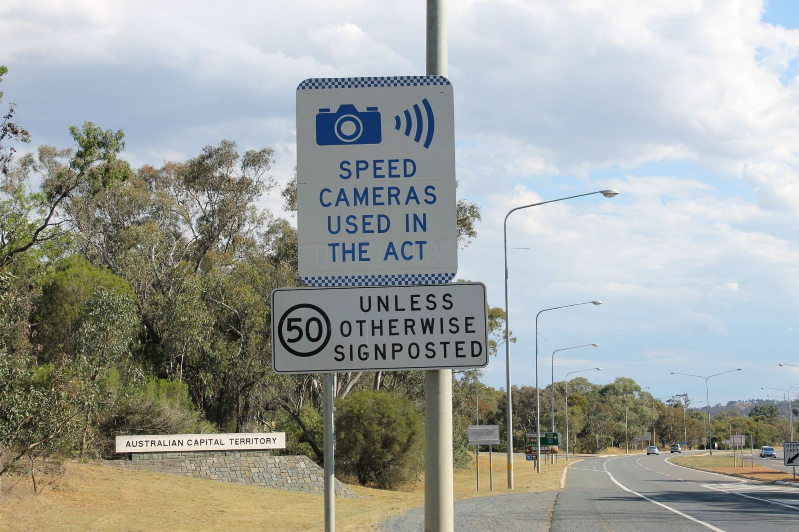 ACT Responds To Critical Speed Camera Report: More Cameras