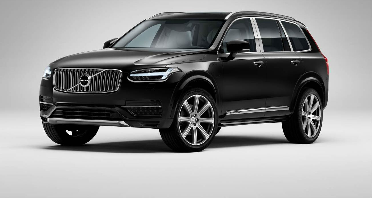 Volvo XC90 Excellence Shows Off Four-seat Layout In Shanghai