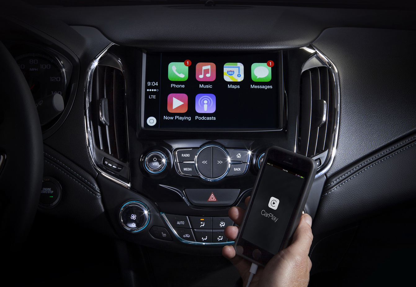 New Cruze To Be Revealed In June, Packing Apple CarPlay And Android Auto