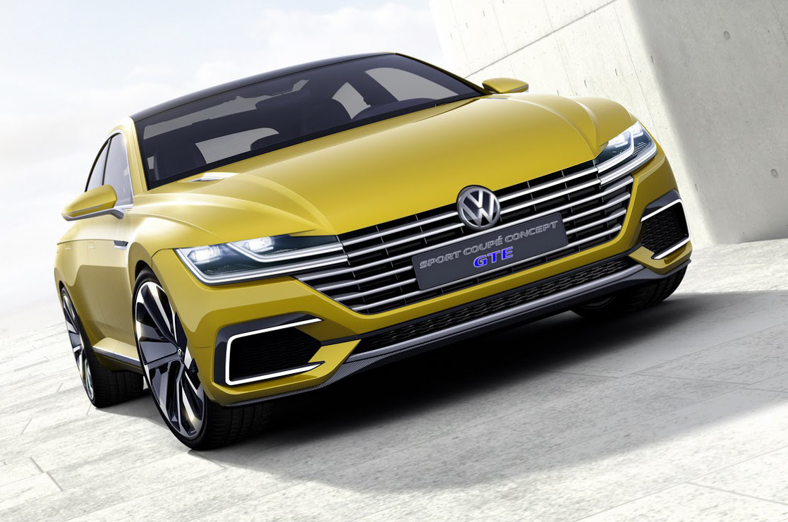 Volkswagen Sport Coupe GTE Concept Previews Passat's New CC Sibling