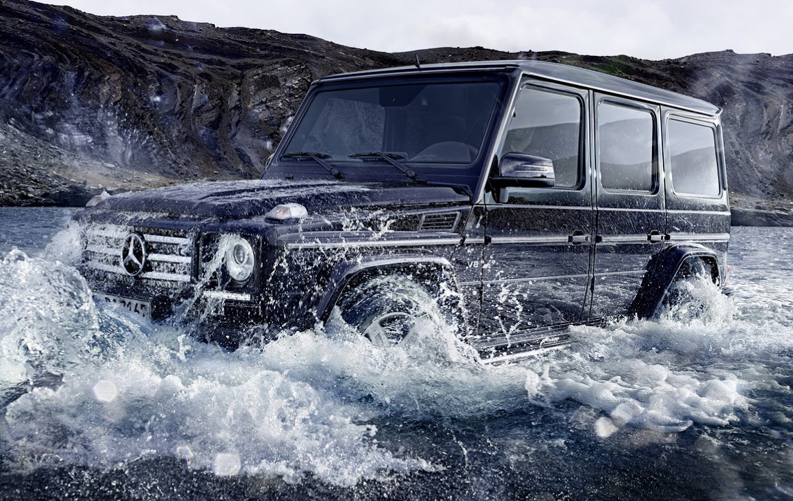 Mercedes G-Class Gets AMG GT Coupe Power, New Tricks For 2015