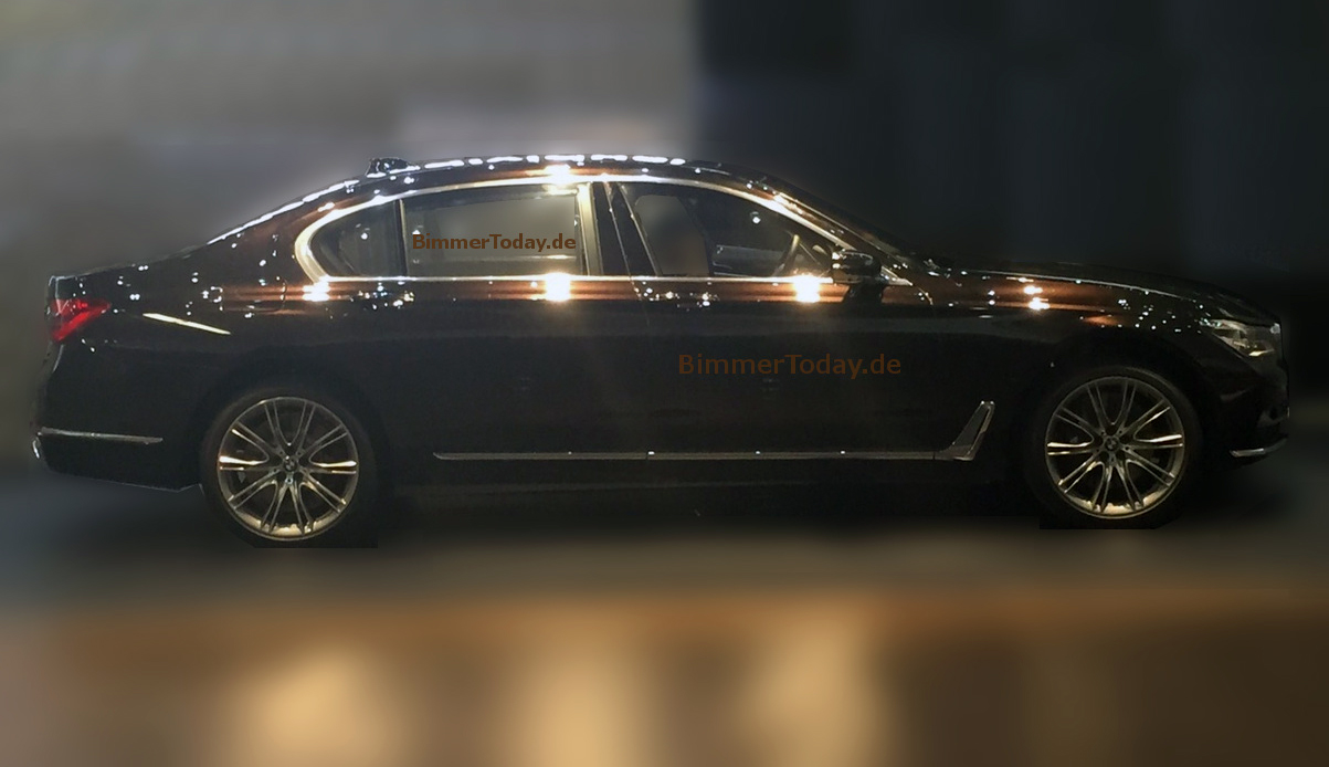 2016 BMW 7 Series Revealed In New Leaked Photo