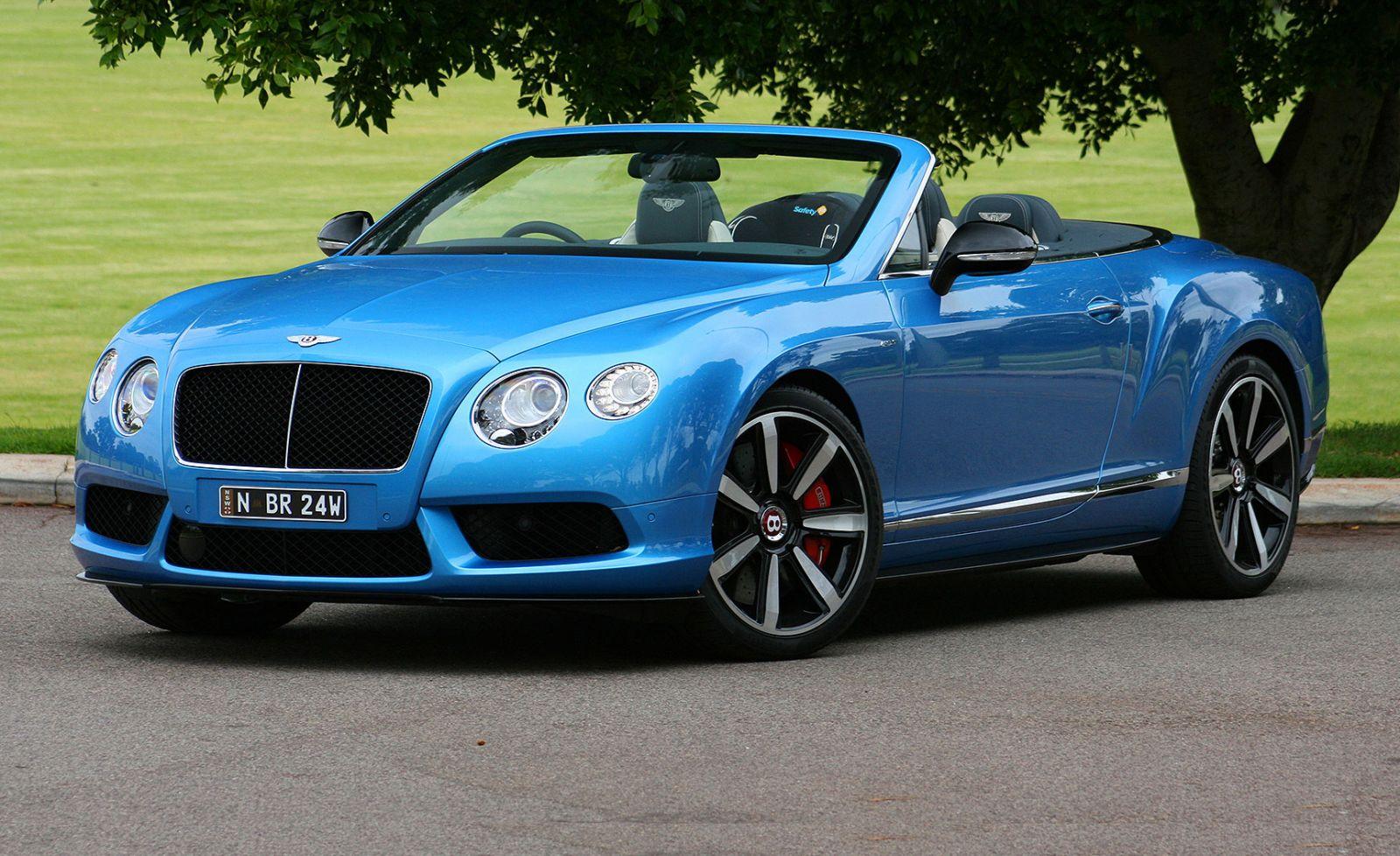 2015 Bentley Continental GTC V8 S Convertible Review