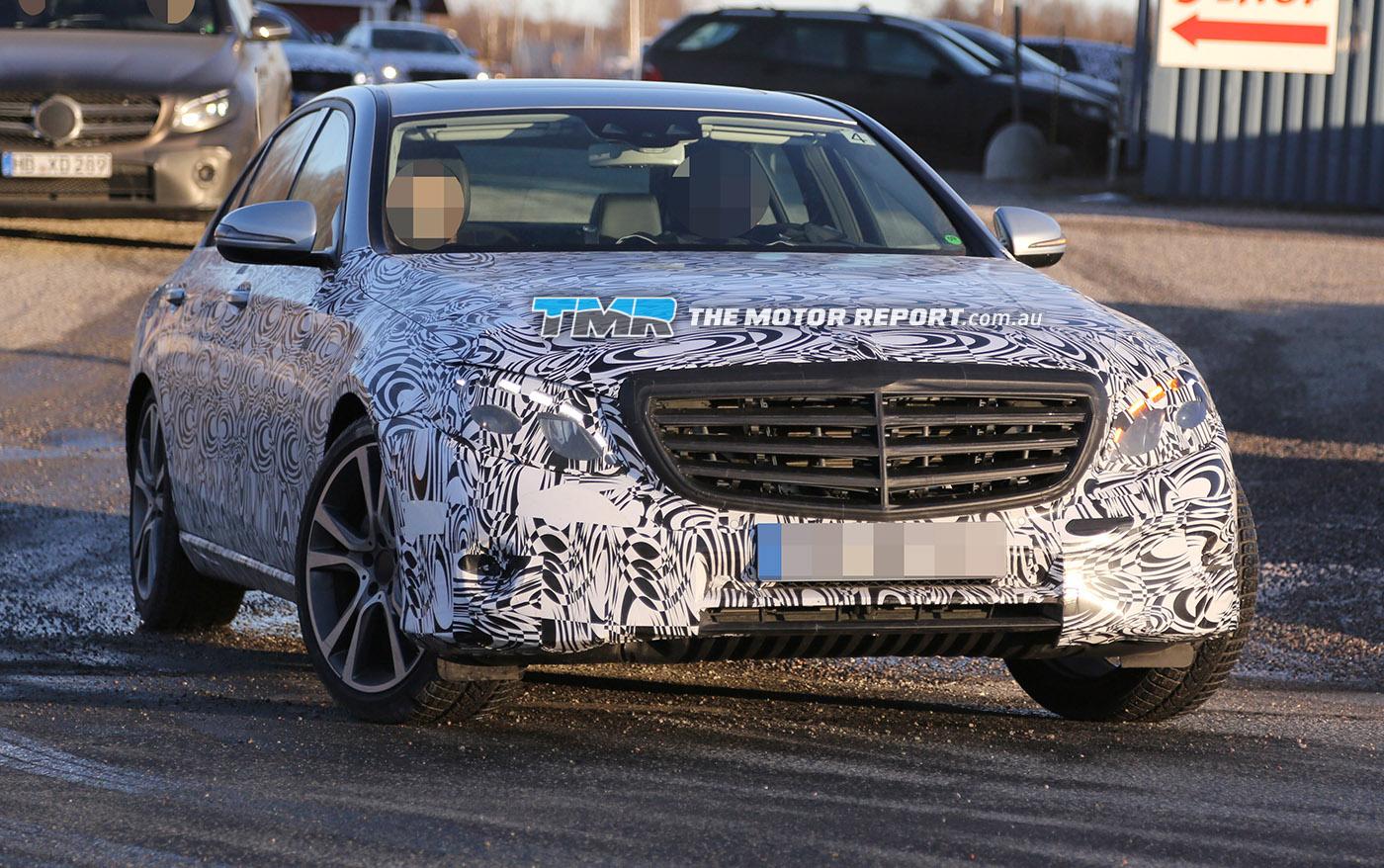 2017 Mercedes E-Class Spied Testing