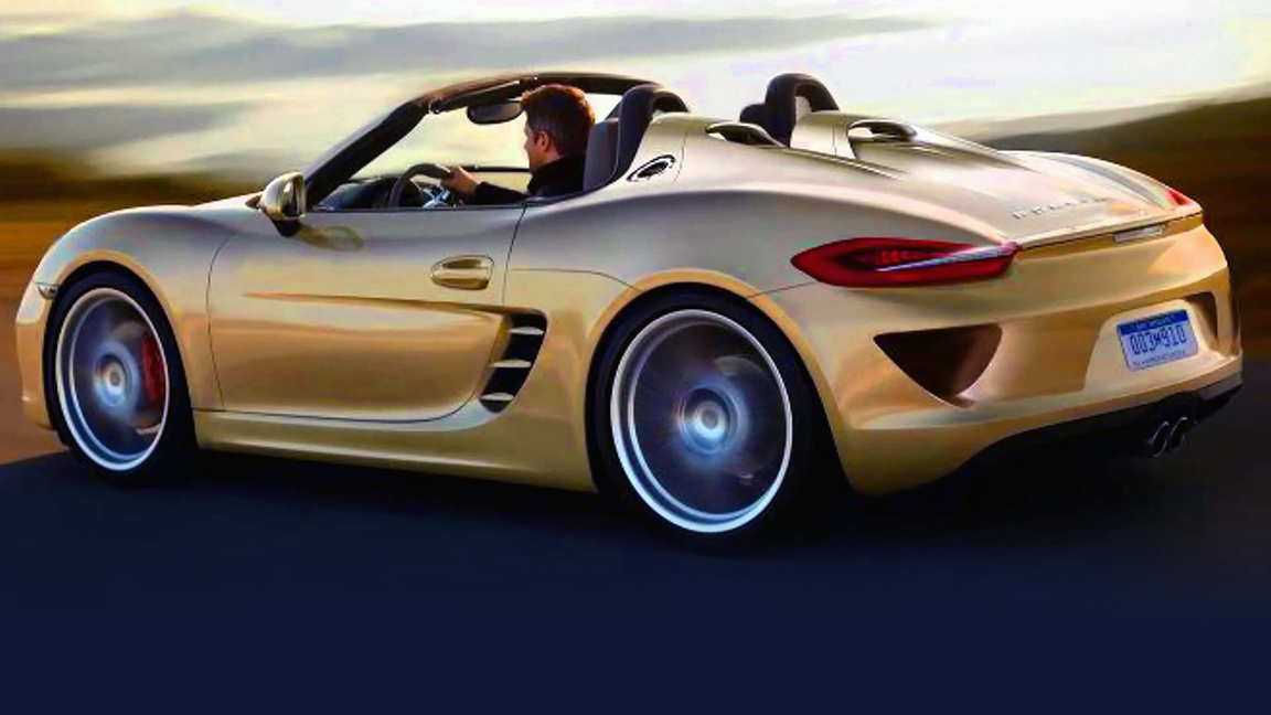 New Porsche Boxster Spyder Coming, One Of 50 New VW Group Models