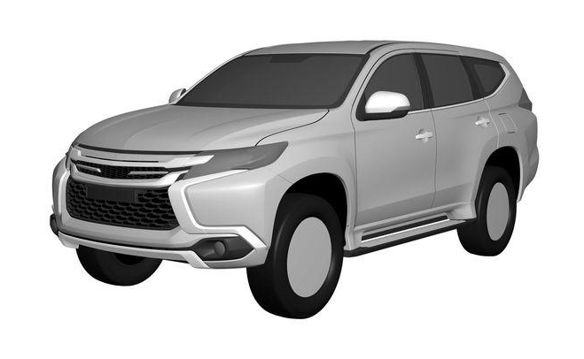 New Mitsubishi Challenger Revealed In Patent Renderings