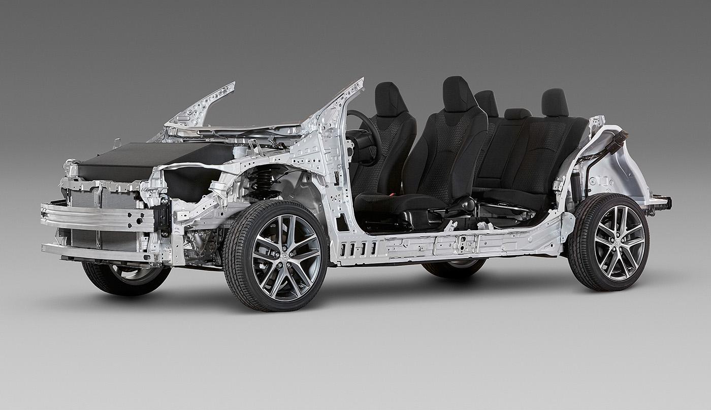 TNGA: Toyota's New Global Platform Revealed, New Engines Coming