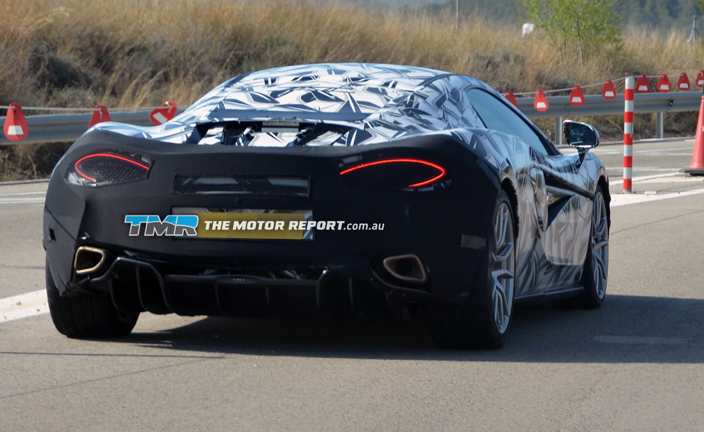 McLaren Sports Series Coupe Spied, 570S Name Rumoured