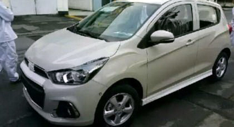 2016 Holden Barina Spark Spied Testing?