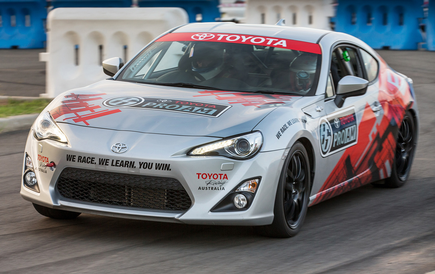 Toyota 86 Pro-Am Race Series Launched In Australia With V8 Supercars
