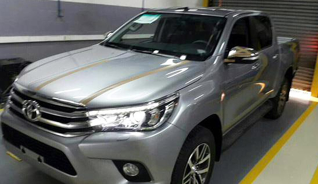 New HiLux Revealed Again In Leaked Garage Photos