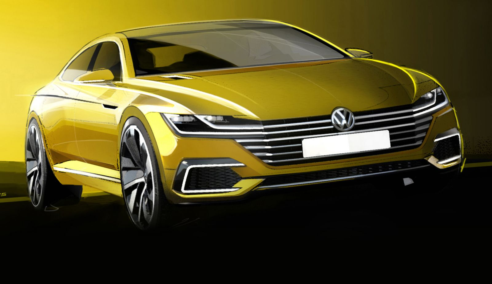 Volkswagen's New CC Four-door Coupe To Be Previewed In Geneva