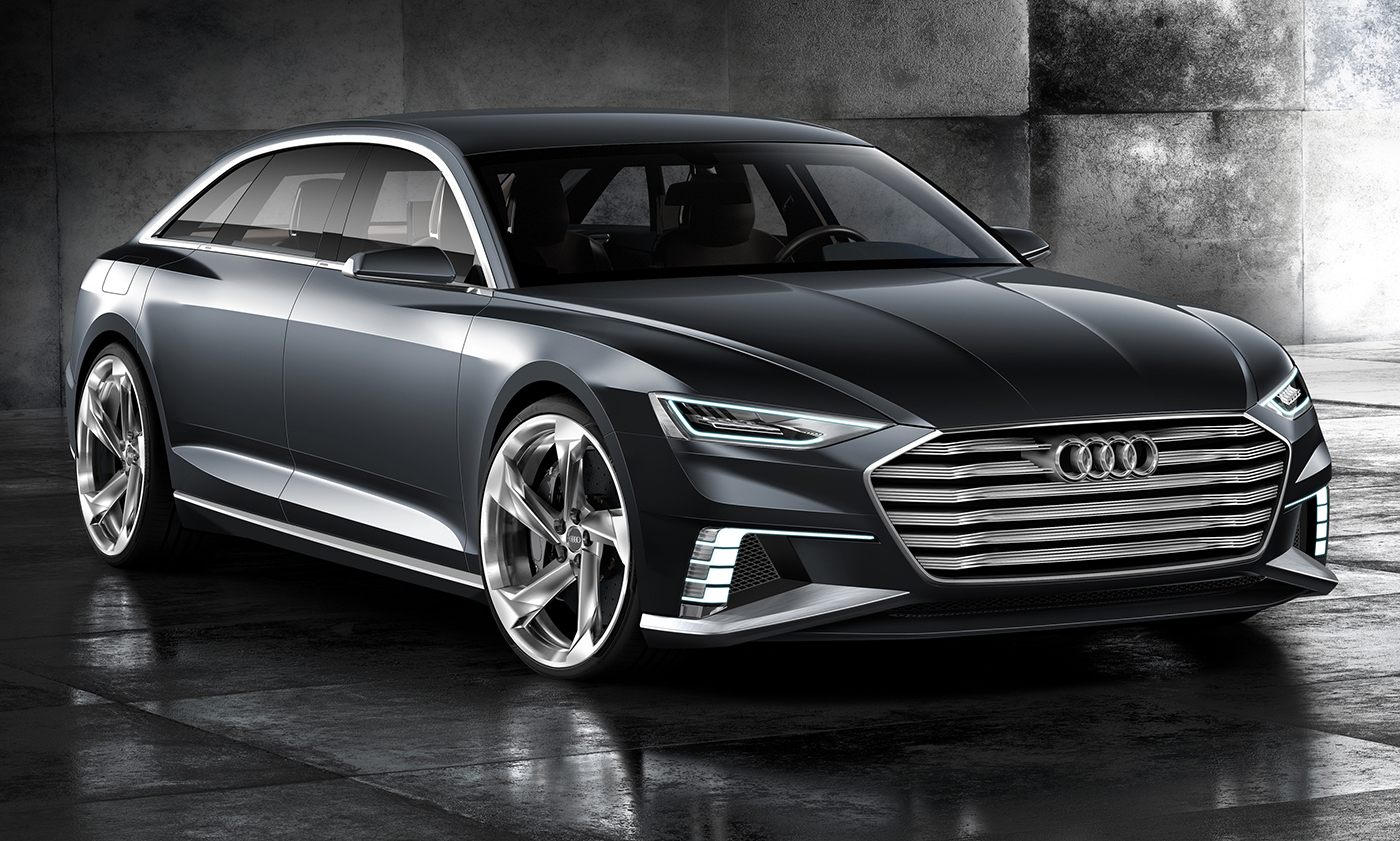 Audi Prologue Avant Wagon Concept Revealed For Geneva